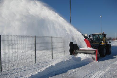 снегоуборочная  техника TOKVAM